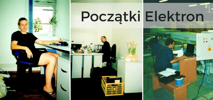 Historia firmy Elektron Centrum Elektrotechniki Marek Nawrocki, w skrócie ECE. Na zdjęciu założyciele firmy.