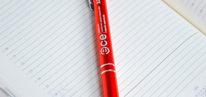 akcja promocyjna black week długopisy ECE